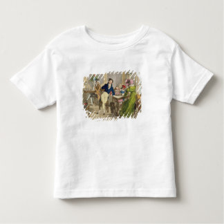 Le Cafe, pub. by Rodwell and Martin, 1820 (colour Toddler T-shirt