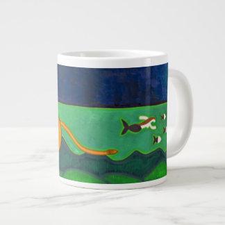 Le Cap de Roccapina et son Lion 2014 Large Coffee Mug