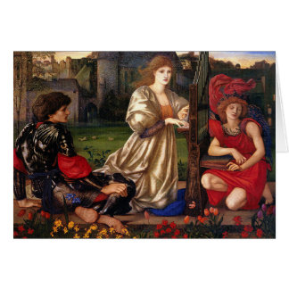 Le Chant D'Amour, Edward Burne-Jones, 1868-1877 Tarjeta De Felicitación