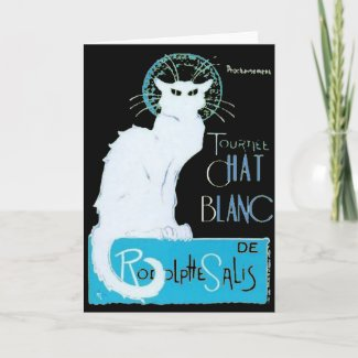 Le Chat Blanc card