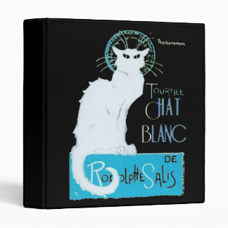 Le Chat Blanc Parody Of Le Chat Noir 3 Ring Binder