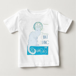 Le Chat Blanc Parody Of Le Chat Noir Baby T-Shirt