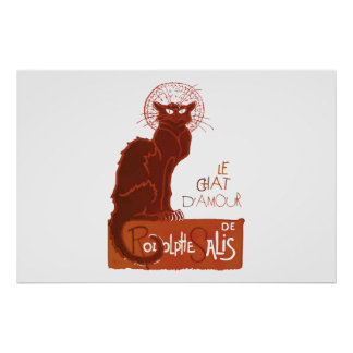 Le Chat D Amour v Posters
