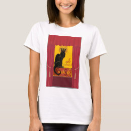 Le Chat D'Amour with Theatrical Curtain Border T-Shirt