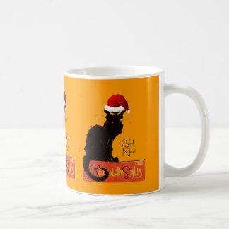 Le Chat Noel Coffee Mug