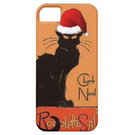 Le Chat Noel Funda Para iPhone 5 Barely There