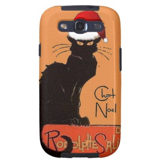 Le Chat Noel Galaxy S3 Case
