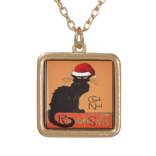 Le Chat Noel Gold Plated Necklace