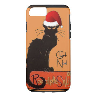 Le Chat Noel iPhone 7 Case