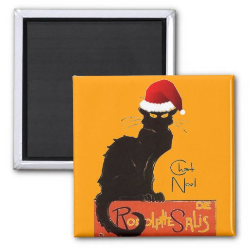 Le Chat Noel Magnets