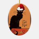 Le Chat Noel Ornamento Para Arbol De Navidad