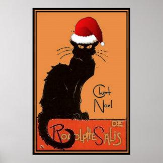 Le Chat Noel Póster