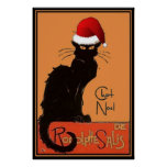 Le Chat Noel Posters