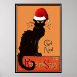 Le Chat Noel Print