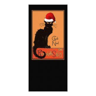 Le Chat Noel Rack Card