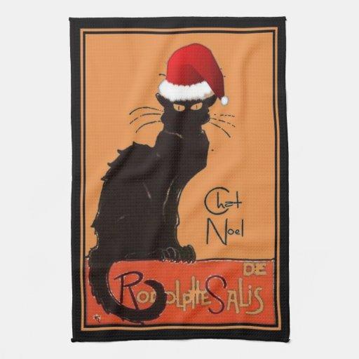 Le Chat Noel Toalla De Mano