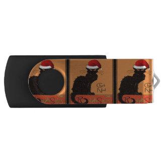 Le Chat Noel USB Flash Drive