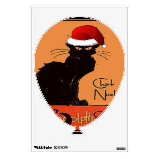 Le Chat Noel Wall Decal