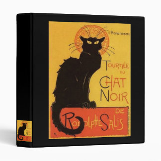 Le Chat Noir 3 Ring Binder