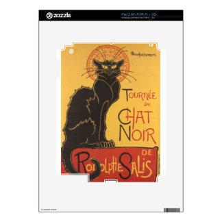Le Chat Noir Art Print iPad 2 Skin