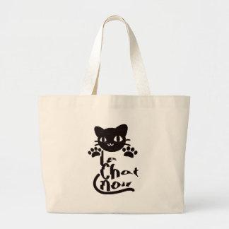 Le Chat Noir Tote Bags