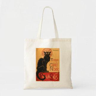 Le Chat Noir Canvas Bag