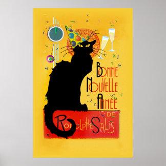 Le Chat Noir - Bonne Nouvelle Année Poster
