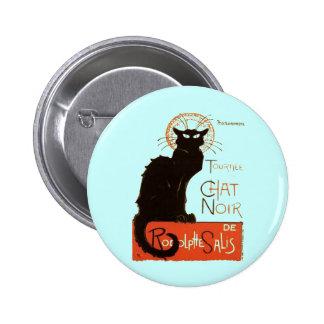 Le Chat Noir Pinback Buttons