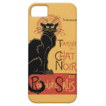 Le Chat Noir by Steinlen iPhone 5 Covers