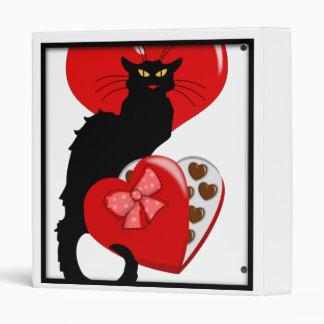 Le Chat Noir con el caramelo de la tarjeta del día
