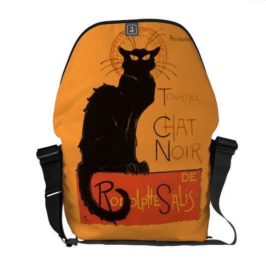 Le Chat Noir Courier Bag