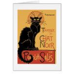 Le Chat Noir de Théophile Steinlen Felicitaciones