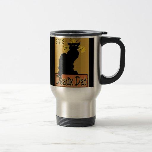 Le Chat Noir Deaux Dat Travel Mug
