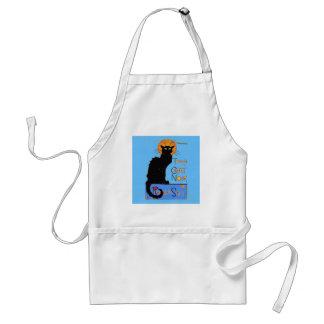 Le Chat Noir Delantal