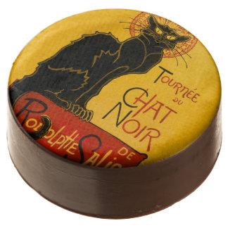 Le Chat Noir el vintage de Nouveau del arte del
