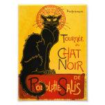 Le Chat Noir el vintage de Nouveau del arte del Fotografía