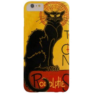 Le Chat Noir el vintage de Nouveau del arte del Funda De iPhone 6 Plus Barely There