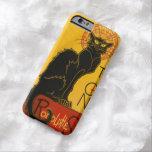 Le Chat Noir el vintage de Nouveau del arte del Funda Para iPhone 6 Barely There