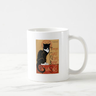 Le Chat Noir et Blanc 2-side Classic White Coffee Mug
