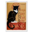 Le Chat Noir et Blanc Card