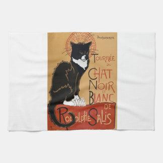 Le Chat Noir et Blanc Kitchen Towels
