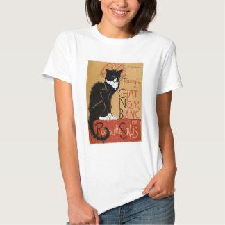 Le Chat Noir et Blanc T Shirt