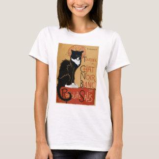 Le Chat Noir et Blanc T-Shirt