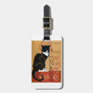 Le Chat Noir et Blanc Tag For Luggage