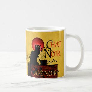 Le Mug Chat Et Noir Café Coffee UMzSVp