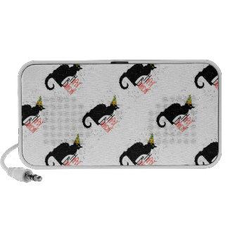 ¡Le Chat Noir - FELIZ CUMPLEAÑOS! Laptop Altavoces