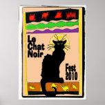 Le Chat Noir Fest 2010 Print