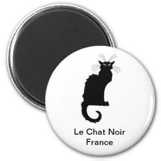 Le Chat Noir France Magnet