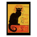 Le Chat Noir Greeting Card