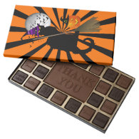 Le Chat Noir - Halloween Witch 45 Piece Assorted Chocolate Box